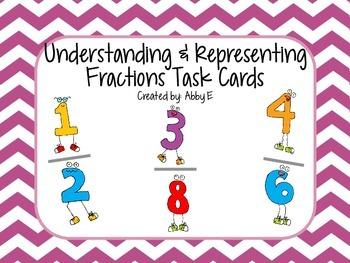 Understand & Represent Fractions 3NF1