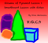 Samrtboard Math Lesson and Video - Volume of a Pyramid