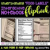 Understanding a Food Label Interactive Flip Book