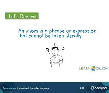 Understand figurative language.