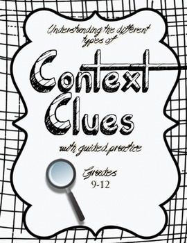 Understand the Different Types of Context Clues (Advanced). NO PREP WORK!