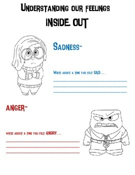 Understanding our feelings- Inside Out