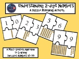 Understanding 2-digit Numbers Puzzle Matching Activity