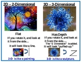 Understanding 2D vs. 3D - FREE Quick PowerPoint {Common Core}