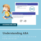 Understanding ABA for Children with Autism Parent Training PowerPoint