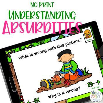 Understanding ABSURDITIES is a walk in the park!