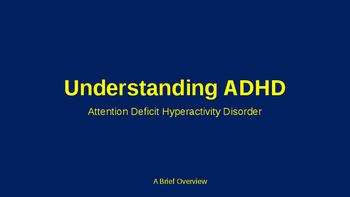Understanding ADHD in the Classroom