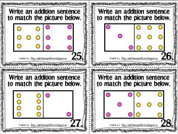 Understanding Addition Math Center