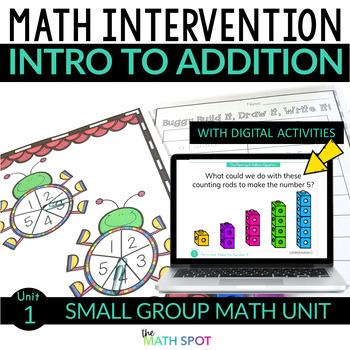Understanding Addition Math Intervention and RtI