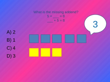 Understanding Addition Review Game