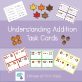 Understanding Addition Task Cards - Fall Edition