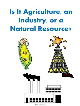 Natural Resources, Agriculture, & Industry PowerPoint Lesson