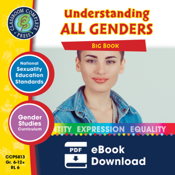 Understanding All Genders BIG BOOK Gr. 6-Adult - Bundle