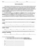 Understanding Alleles Worksheet
