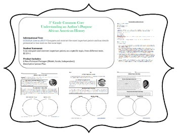 Comparing Informational Texts Lesson Plan