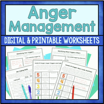 graphic regarding Anger Management Printable Worksheets named Anger Handle Worksheets Academics Pay back Instructors