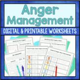 Anger Management Worksheets - Printable And Google Slides Versions Included