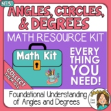 Understanding Angle Measures as Cut Outs of a Circle Angle