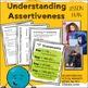 Understanding Assertiveness--Character Trait Lesson
