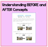 Understanding BEFORE and AFTER Concepts