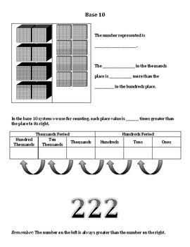 Understanding Base 10 Notes