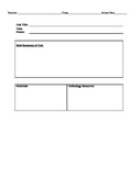 Understanding By Design Lesson Template