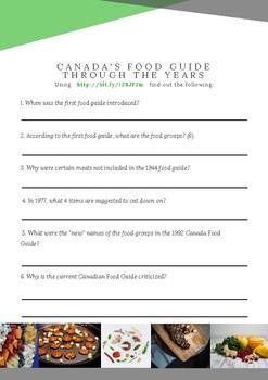 Understanding Canada's Food Guide