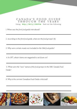 Understanding Canada's Food Guide