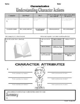 "Characterization-""Understanding Character Actions"""