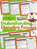 Understanding Characters Passages RL2.3 | Character Traits Reading Comprehension