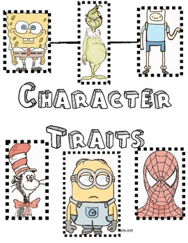 Character Traits Unit Fun