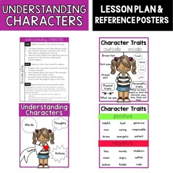 Understanding Character Traits: Lesson Plan, Mini-Lesson, Anchor Charts, G.O.s