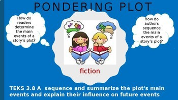 Sequencing and Summarizing the Main Eents in a Story's Plot