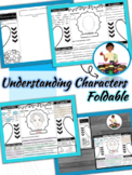 Understanding Characters Interactive Notebook Foldable