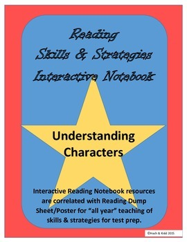 Understanding Characters Interactive Notebook with Any Story