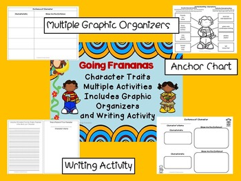 Understanding Characters Lesson Activities AND Character Trait Activities