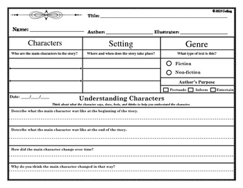 Understanding Characters: Mini-lesson (Guided Reading)