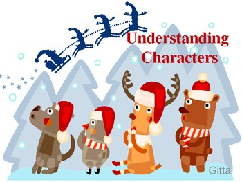 Understanding Characters-My Name is Gabriela- Power Point for Journey's