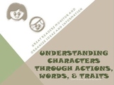 Understanding Characters Words Actions and Traits