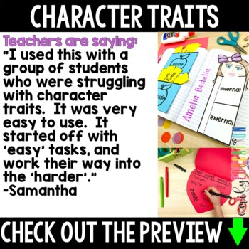 Understanding Characters and Character Traits Activities