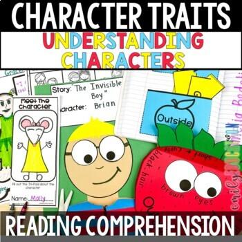 Character Traits Activities for Understanding Characters