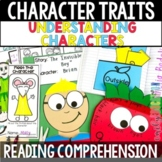 Character Traits Activities for Understanding Characters Distance Learning