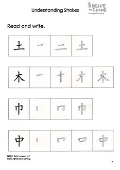 Understanding Chinese Strokes