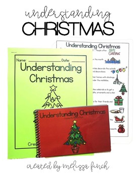 Understanding Christmas- Social Story for Students with Sp