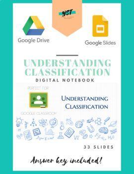 Understanding Classification Digital Notebook