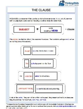 Understanding Clauses ACELA1481