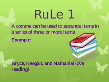 Understanding Commas