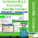 Understanding & Comparing Scientific Notation Interactive