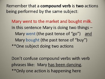 Understanding Compound Sentences