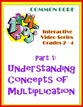 Understanding Concepts of Multiplication (Common Core Standards)